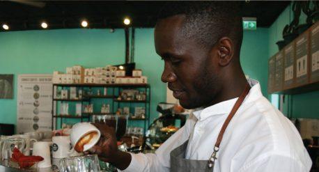 Professional specialty coffee barista.