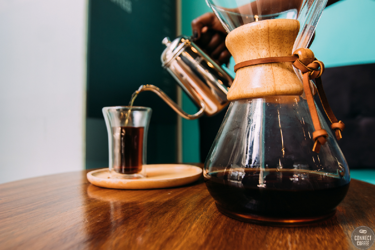 Chemex coffee maker 6 cups @ connect coffee roasters