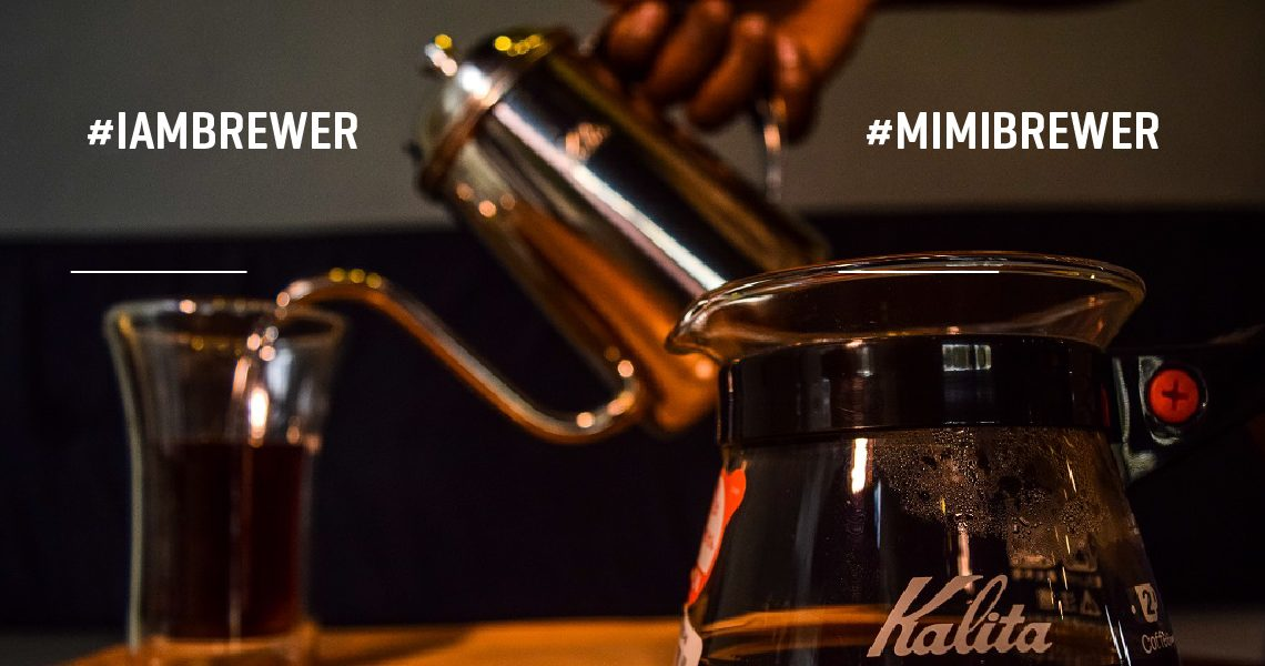 CONNEDCT COFFEE IAMBREWER CHALLENGE. #IAMBREWER #MIMIBREWER