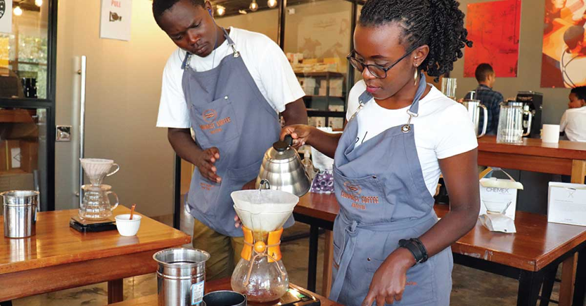 coffee academy, ,coffee skills, barista training, coffee training, coffee school in kenya, nairobi, one tribe church, persons with disabilties