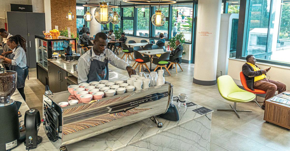 Third wave, coffee shops, coffee outlets, sanlam, best coffee shop in westlands, nairobi