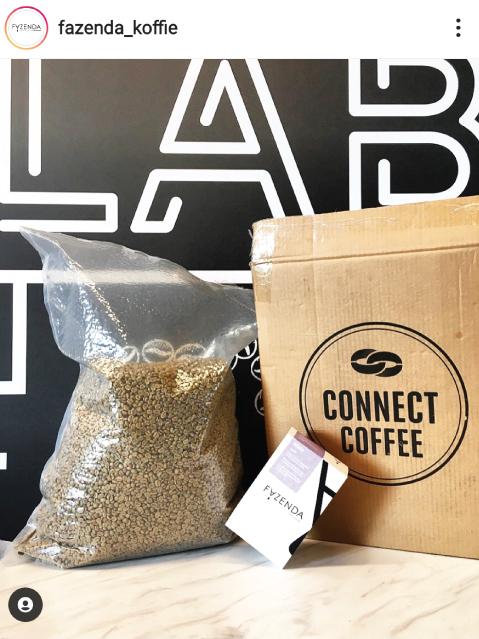 Coffee packaging, 15Kg Vacuum packaging, green bean trading
